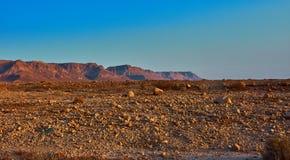 Взгляд пустыни Judean на Израиле стоковая фотография rf