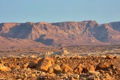 Взгляд пустыни Judean на Израиле стоковые фотографии rf