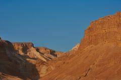 Взгляд пустыни Judean на Израиле стоковое фото rf