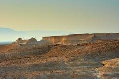 Взгляд пустыни Judean на Израиле стоковые изображения rf