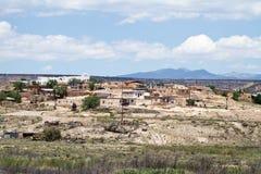 взгляд Пуэбло Мексики новый Стоковое Изображение RF