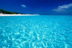 взгляд рая океана острова Стоковое Изображение