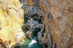 Взгляд реки каньона реки Blyde Стоковое Изображение
