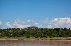 взгляд реки mekong Стоковые Изображения RF