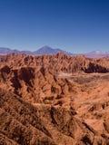 Взгляд Рекы San Pedro в San Pedro de Atacama, пустыне Atacama стоковые изображения