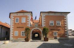 Взгляд ржавчины Rathaus стоковое фото rf