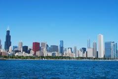 взгляд самое сердце chicago стоковое изображение rf