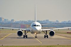 Взгляд самолета Air France Стоковое Изображение