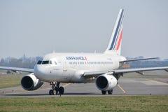 Взгляд самолета Air France Стоковое фото RF