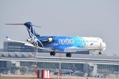 Взгляд самолета Nordica Стоковое фото RF