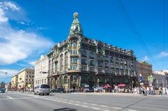 Взгляд Санкт-Петербурга, России Стоковая Фотография