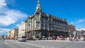 Взгляд Санкт-Петербурга, России Стоковые Фотографии RF