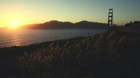 Взгляд Сан-Франциско от холма Nob акции видеоматериалы