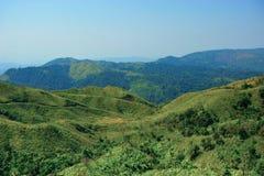 взгляд сверху горы Стоковое Фото