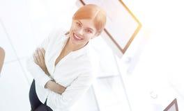 взгляд сверху детеныши женщины портрета ся Стоковое Изображение RF