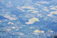 взгляд сверху земли Стоковое Изображение