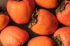 взгляд сверху зрелого апельсина Стоковая Фотография RF