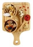 Взгляд сверху китайских herbals Стоковая Фотография RF