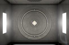 Взгляд сверху микроволны Стоковые Фото