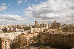 взгляд сверху пункта kiev Стоковые Фотографии RF