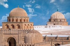Взгляд сверху старой мечети стоковые изображения