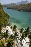взгляд сверху Таиланда pangnga островов Стоковое Изображение RF