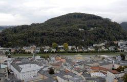 взгляд сверху salzburg Стоковые Изображения RF