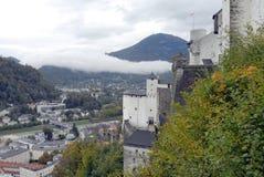 взгляд сверху salzburg Стоковое фото RF
