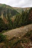Взгляд скалистого ландшафта Стоковая Фотография RF