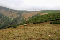 Взгляд скалистого ландшафта стоковое изображение