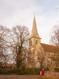 взгляд со стороны башни христианской церков верхнего ясного sk mistley английской Стоковое фото RF