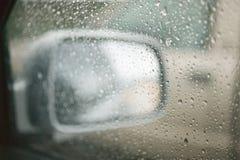 взгляд со стороны зеркала Стоковая Фотография RF