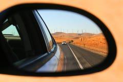 взгляд со стороны зеркала Стоковое Изображение RF