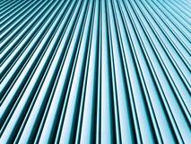 взгляд со стороны металла гаража Стоковое фото RF