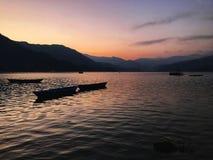 Взгляд со стороны озера стоковая фотография