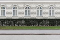 взгляд со стороны улицы Стоковые Фотографии RF