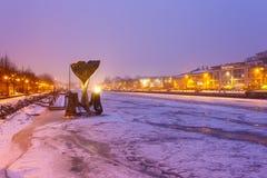 Взгляд сработанности фонтана Ахимом Kuhn Стоковые Фотографии RF