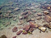 взгляд Средиземного моря стоковое фото