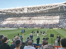 Взгляд стадиона allianz, поля дома Juventus стоковое изображение rf