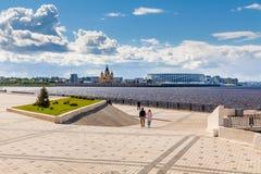 Взгляд стадиона Nizhny Novgorod Стоковая Фотография RF