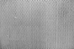 Взгляд стальной предпосылки отверстие стоковое фото rf