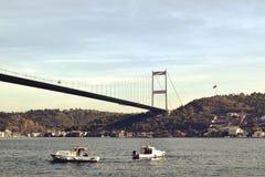 Взгляд Стамбула азиатской стороны стоковые фото