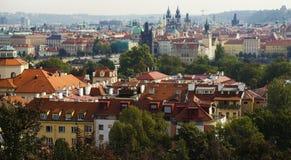 Взгляд старого городка Прага Стоковая Фотография RF
