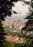 Взгляд старого городка Прага Стоковые Фото