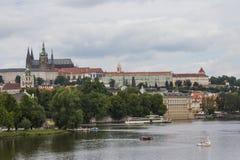 Взгляд старого городка Праги взгляд городка республики cesky чехословакского krumlov средневековый старый Стоковые Фото