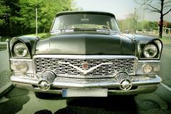 взгляд старого типа автомобиля передний Стоковые Изображения