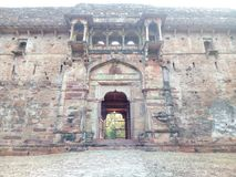 Взгляд старого форта славный стоковые фото