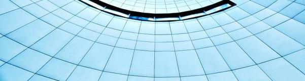 Взгляд стеклянного высокого здания подъема Стоковое Изображение