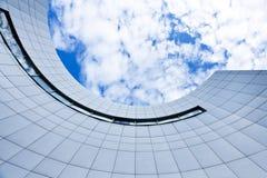 Взгляд стеклянного высокого здания подъема Стоковые Фото