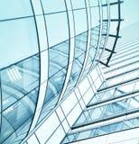 Взгляд стеклянных небоскребов здания Стоковое фото RF